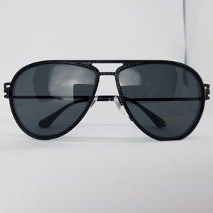 f7ae06ab787e Versace · Versace Sunglasses Black Crystals Frame Aviator